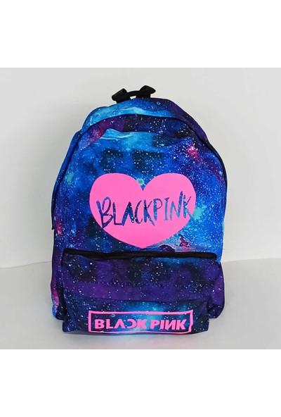 Lapis Blackpink Galaxi Kalp Çanta
