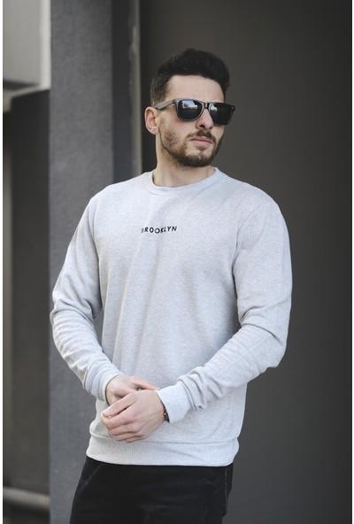 Oksit Lgg Brooklyn Pamuklu Erkek Sweatshirt