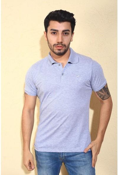 Oksit Ftx Likralı Slim Fit Polo Yaka T-Shirt