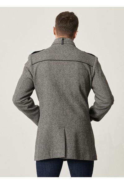 Altınyıldız Classics Ekstra Slim Fit Dik Yaka Klasik Kışlık Kaban