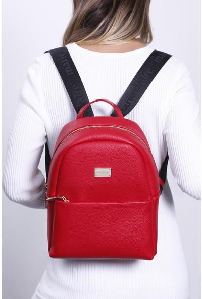 Marie Claire Kırmızı Kadın Sırt Çantası Berta MC212102165