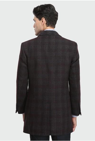Tween Slim Fit Bordo Palto