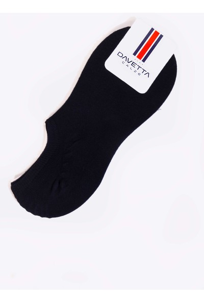 Mudomay Davetta 6'lı Pamuk Penye Erkek Sneakers Çorap (Silikonlu)
