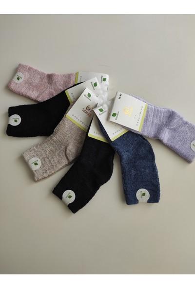 Sahab Kadın Havlu Soket Çorap