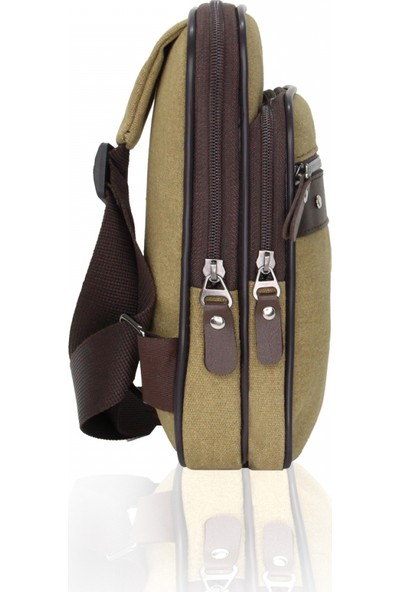 Cambridge Polo Club Kanvas Çapraz Postacı Çantası Plevr50052 Taba