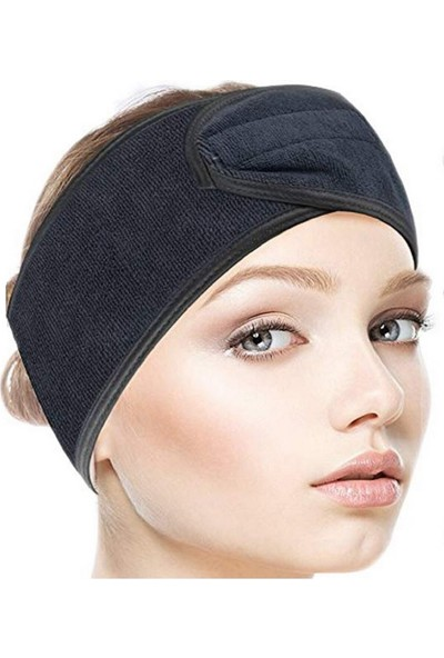 She&co Cırt Cırtlı Spor/makyaj Saç Bandası - Siyah