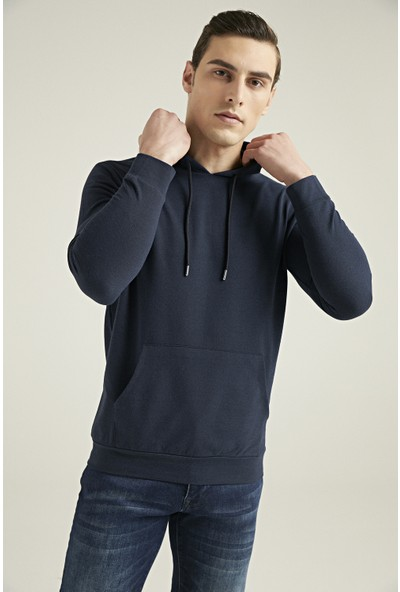D's Damat Regular Fit Lacivert Sweatshirt