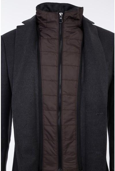 Kiğılı Dik Yaka Ceket