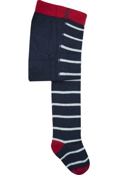 Olay Socks Çizgili Çocuk Külotlu Çorap