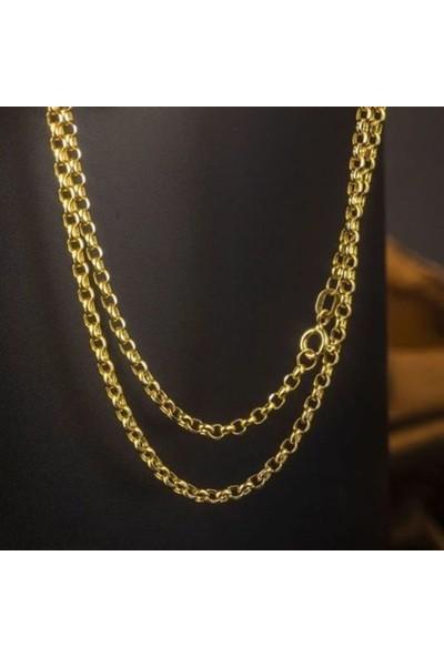 Bilezikci 14 Ayar Altın Zincir 55 cm