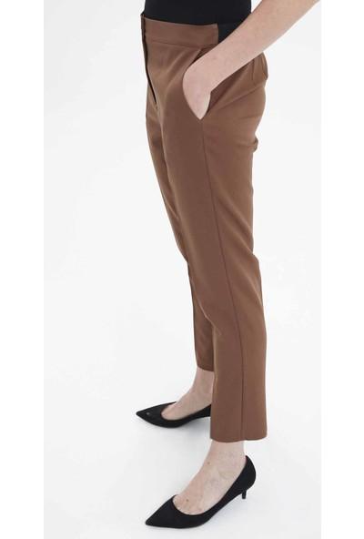 Fever Kadın Beli Lastikli Şeritli Pantolon
