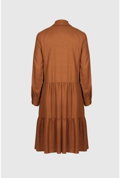Fever Kadın Şerit Aksesuarlı Elbise