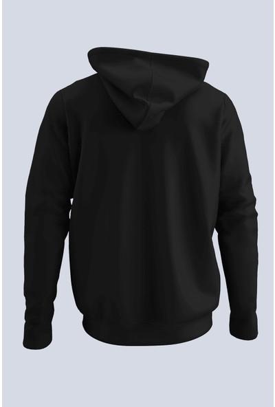 Nba Siyah Erkek Kapşonlu Sweatshirt - Hoodie