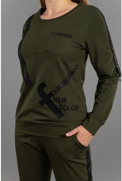 New Color Kadın Iki Iplik Eşofman Takımı