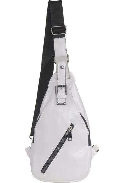Jane Stanley Bodybag Kadın Çantası Beyaz T021