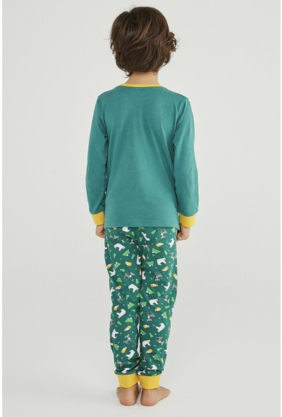 Penti Erkek Çocuk Winter Story 2li Pijama Takımı