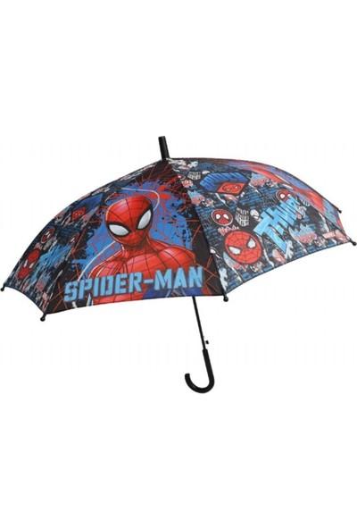 Frocx Lisanslı Spiderman Tall Çocuk Şemsiyesi
