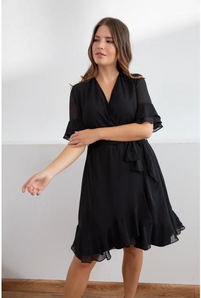 Melisita Lianna Büyük Beden Elbise