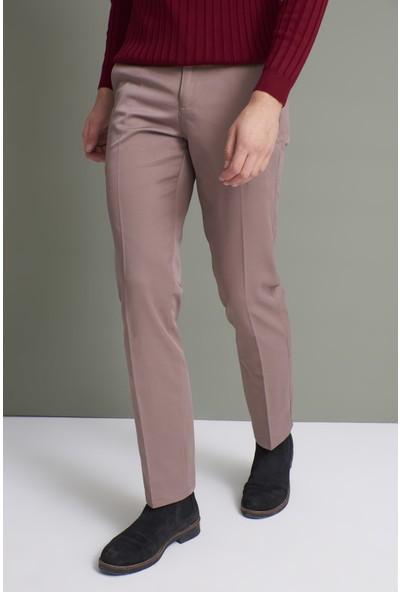 Tena Erkek Koyu Vizon (214) Klasik Rahat Kalıpkumaş Pantolon
