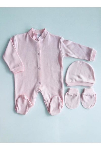 Seçkin Baby Penye Düz Renk Tulum