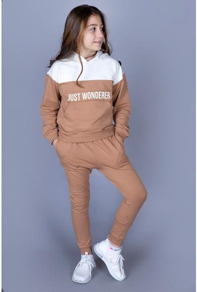 Toontoy Kız Çocuk Just Wonderer Eşofman Takımı