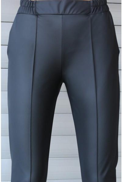 Gigi Gigigiyim Çimalı Deri Pantolon