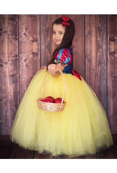Patiska Nostalji Kostüm Pamuk Prenses Kostümü