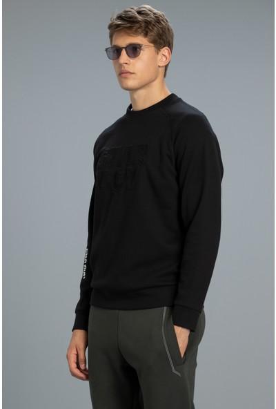 Lufian Uno Sweatshirt Siyah