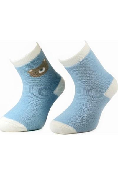 Defnee Baby 2 Li Erkek Bebek Çorap