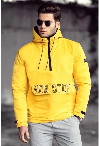 Madmext Sarı Erkek Yağmurluk 4916 S