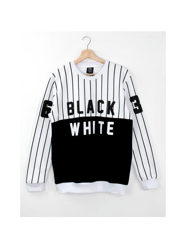 HyperX Black White Erkek Sweatshirt HYP996BY