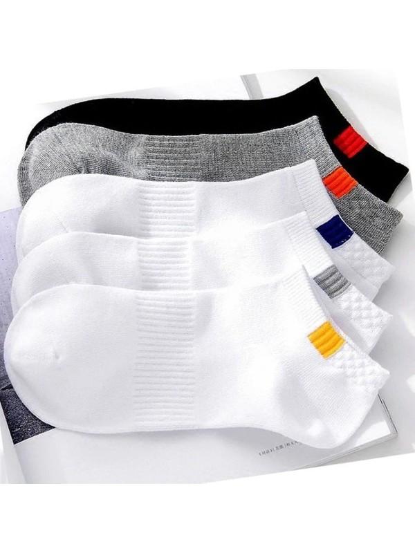 Zirve 5'li Spor Patik Çorap Yıkanmış