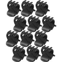Sermet Süs Dünyası 12 Adet Siyah Mini Mandal Toka Saç Tokası