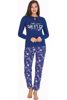 Berland 3313 Kadın Kışlık Modal Pijama Takım
