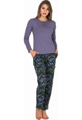 Berland 3202 Kadın Kışlık Pijama Takım