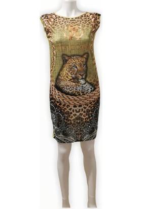 Saygın Baskılı Tunik Elbise