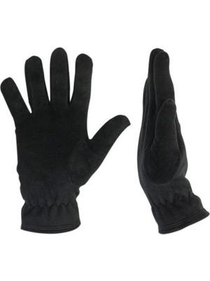 Imershoes Erkek Siyah Termal Kışlık Polar Eldiven