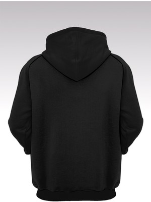 14tonny Mood Breaking Bad Br-Ba 19 Siyah Kapşonlu Sweatshirt - Hoodie