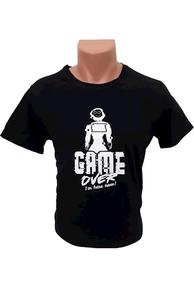 AKINROBOTICS Mini Ada Siyah T-Shirt