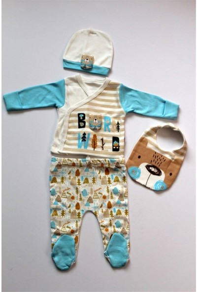 Sebi 1041 Camping Erkek Bebek Hastane Çıkış Seti