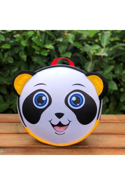 Lullaby Sevimli Panda Yuvarlak Anaokul Sırt Çantası