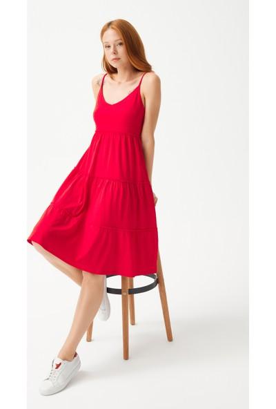 adL Kadın Askılı Elbise