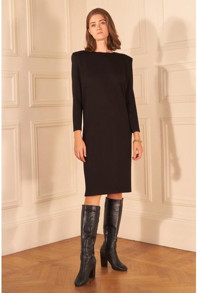 adL Kadın Vatkalı Örme Elbise