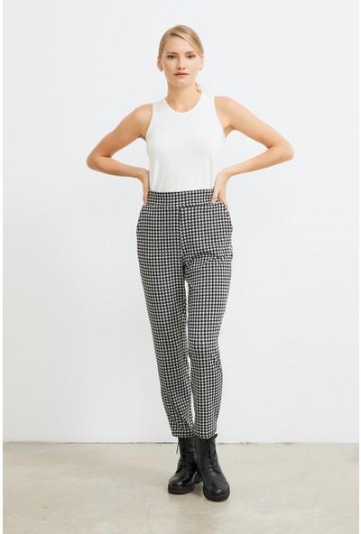 Love my body Kadın Yandan Cepli Örme Pantolon