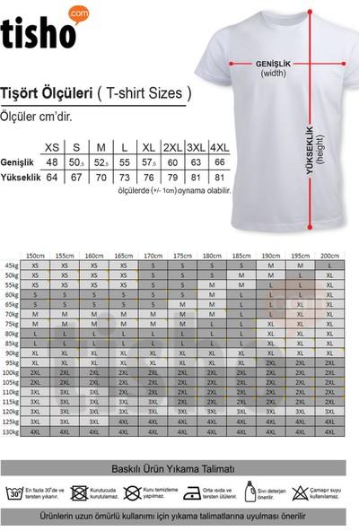 Tisho Fox Mom Baskılı Unisex Kısa Kol T-Shirt