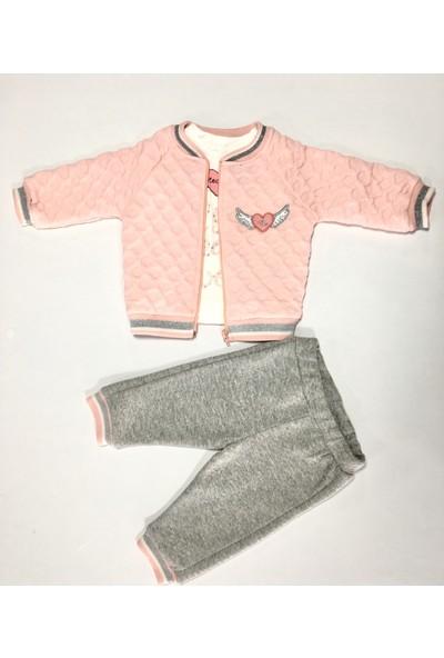 Necix's Bebe Kalpli Parça Kız Bebek Takım