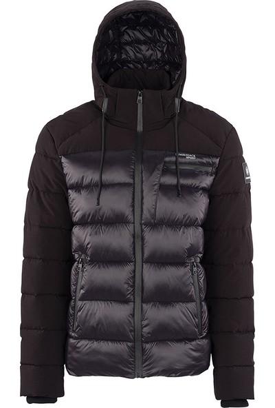 Lumberjack Sander Coat Siyah Erkek Kısa Kaban