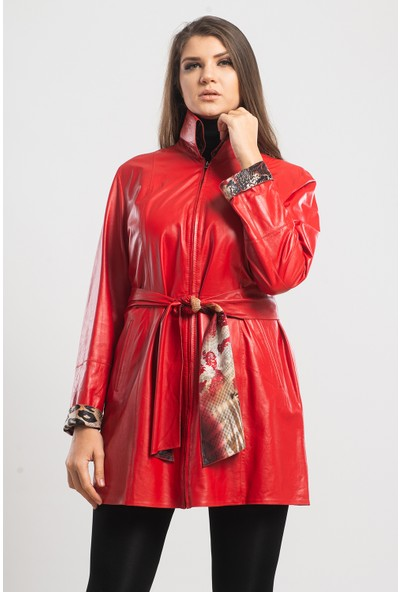 Gian Ferre Kadın Deri Ceket
