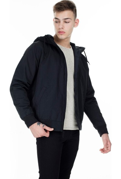 Levi's The Hooded Sherpa Bomber Black