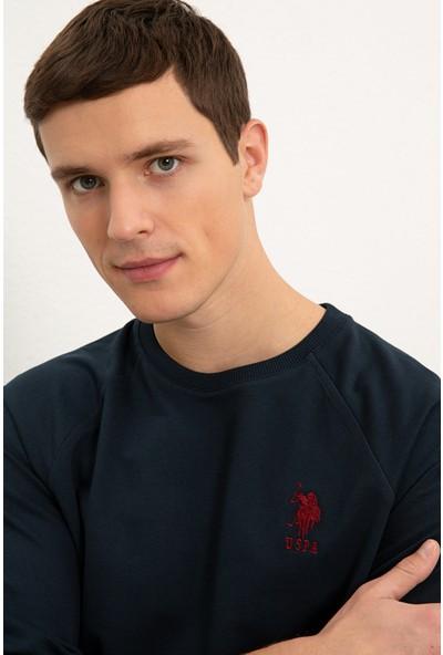 U.S. Polo Assn. Erkek Lacivert Sweatshirt Basic 50225343-Vr033